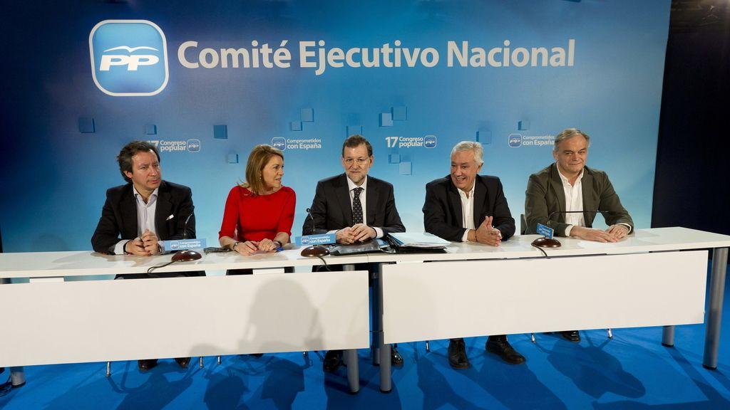 Ejecutiva del PP. Congreso. Foto: EFE.