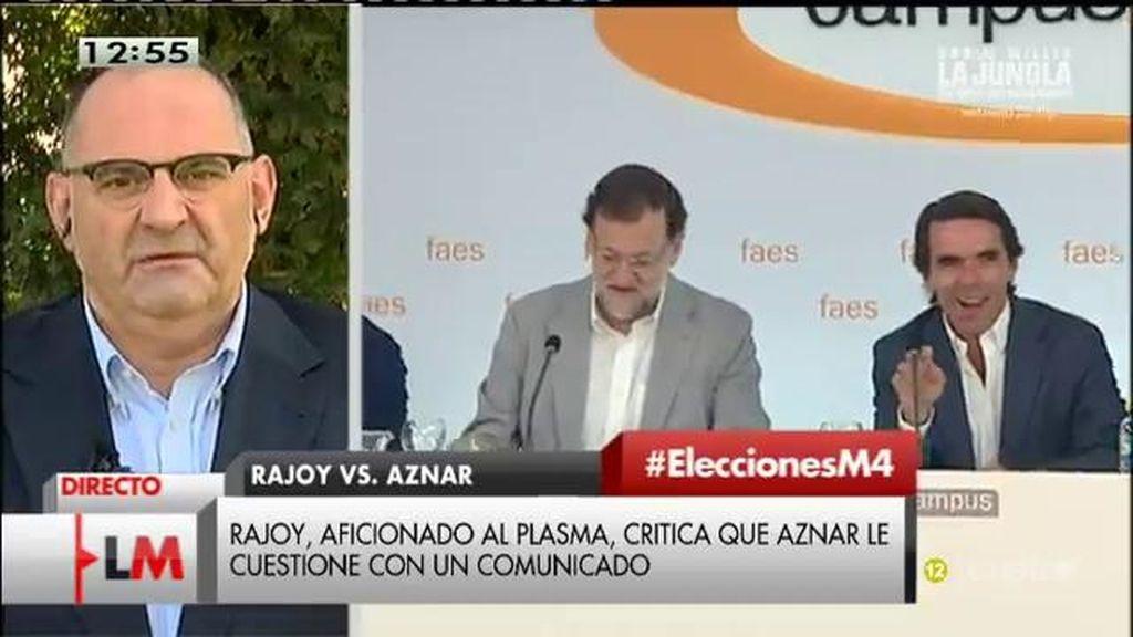"""Antón Losada: """"Aznar, corre porque vas a ser la siguiente víctima del 'abrazo Mariano"""""""