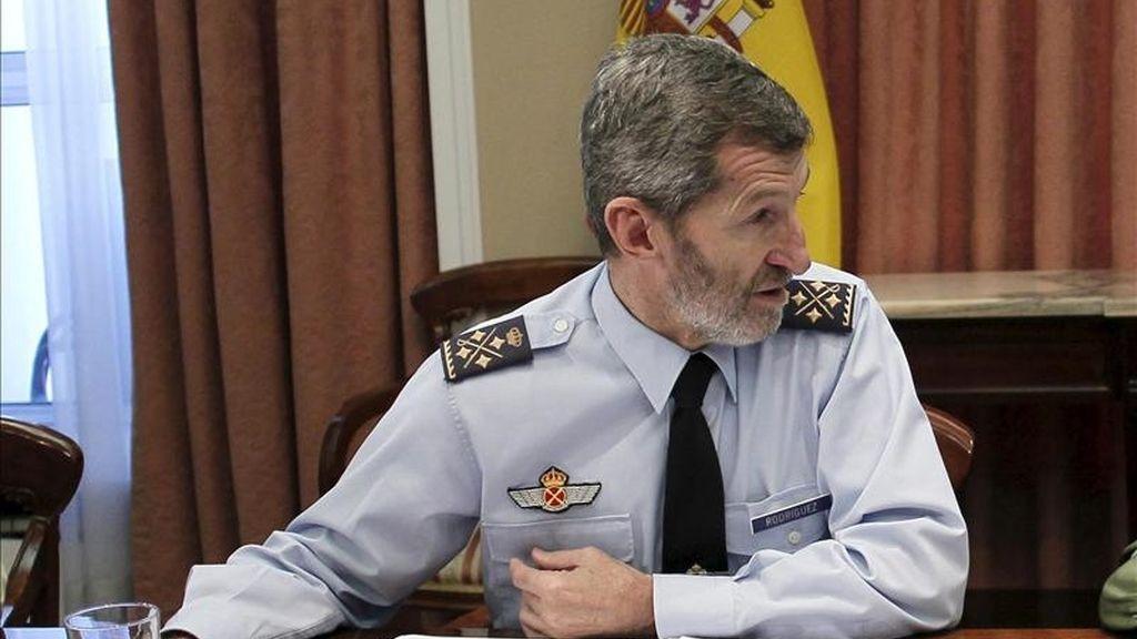El jefe del Estado Mayor de la Defensa, José Julio Rodríguez. EFE/Archivo