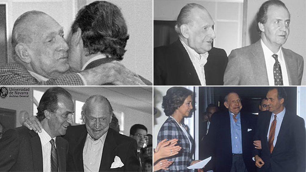 Don Juan Carlos vive volcado en su padre los últimos meses de su vida