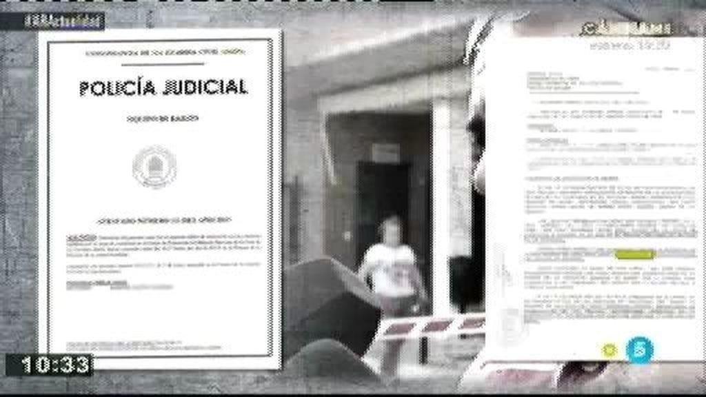 Atestado del secuestro de los niños de Jaén