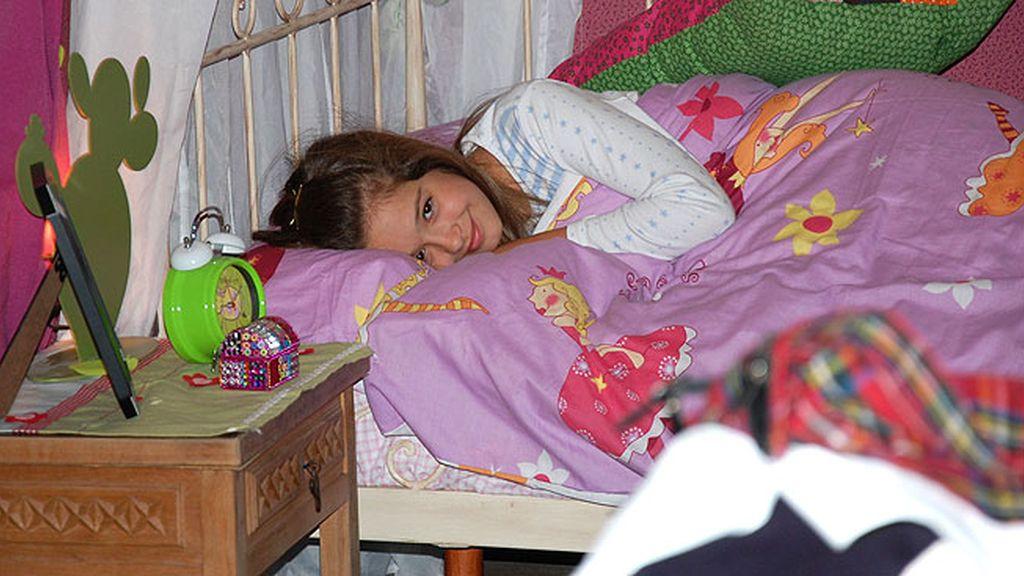 Carmen Sánchez interpreta a una niña que sufre extraños sueños