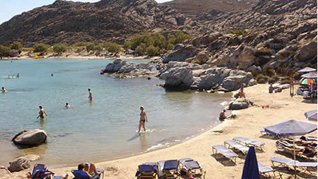 Naoussa, en la isla Griega de Paros