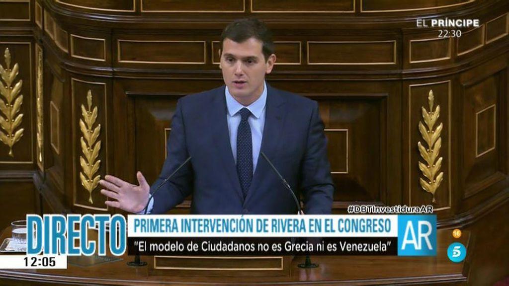 "Rivera, a Iglesias: ""No sé si el Ministerio del Interior se lo va a dar a Otegi"""