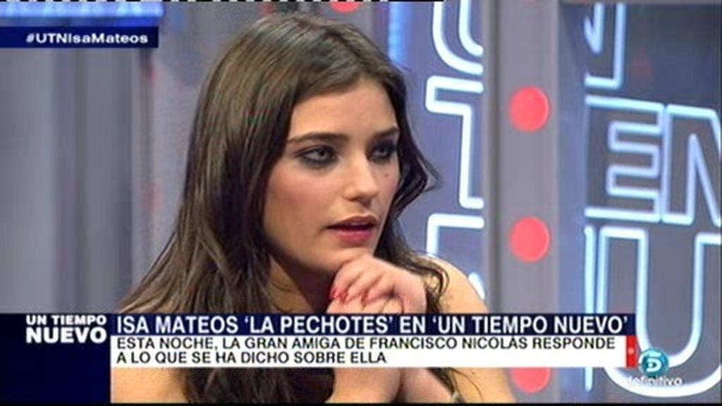"""Isabel Mateos: """"Todos están detrás de Fran pero nadie da la cara por él"""""""