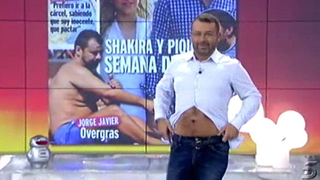 Jorge Javier nos dedica un streptease
