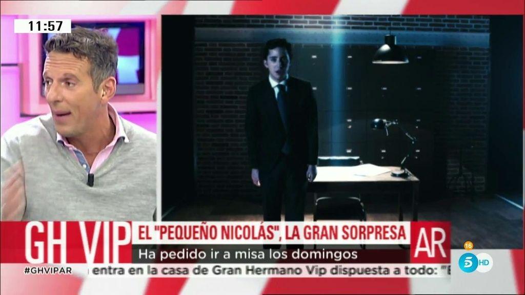 El 'pequeño Nicolás', la sorpresa de 'GH VIP'