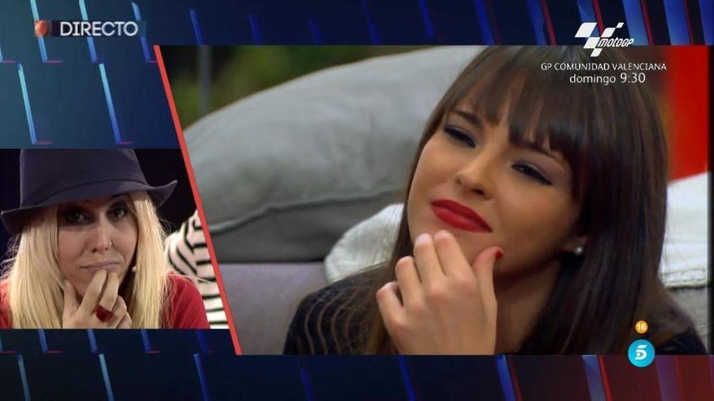 """Amanda, a Marta tras los silbidos: """"No te tengo que decir nada, ya te lo ha dicho público"""""""