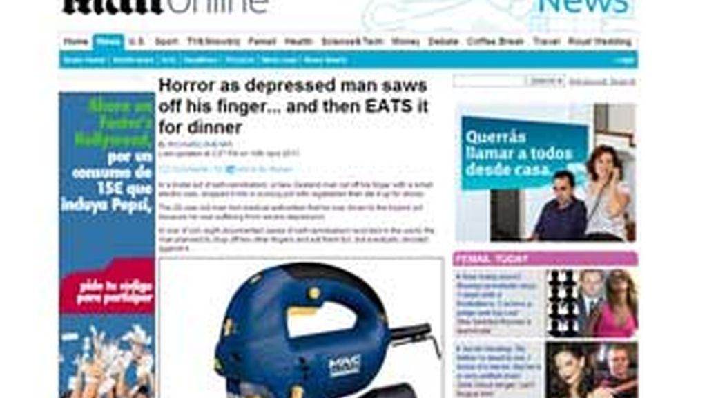 Existen otros ocho casos de auto canibalismo en el mundo