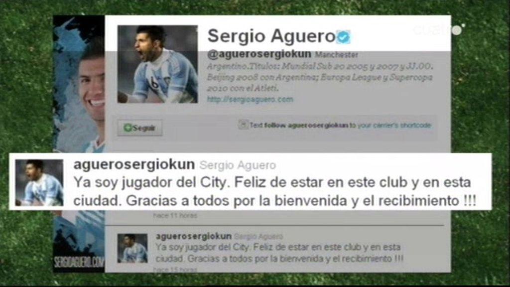 """Agüero: """"Ya soy jugador del City"""""""