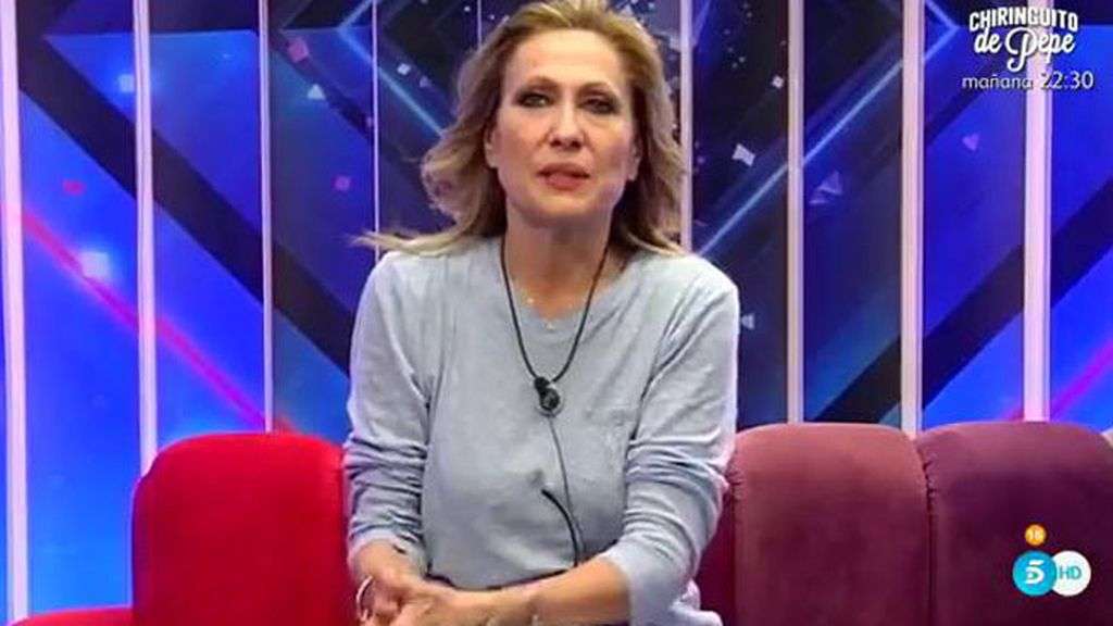 """Rosa Benito, a Carlos Lozano: """"Me he dado cuenta de que eres muy rencoroso"""""""