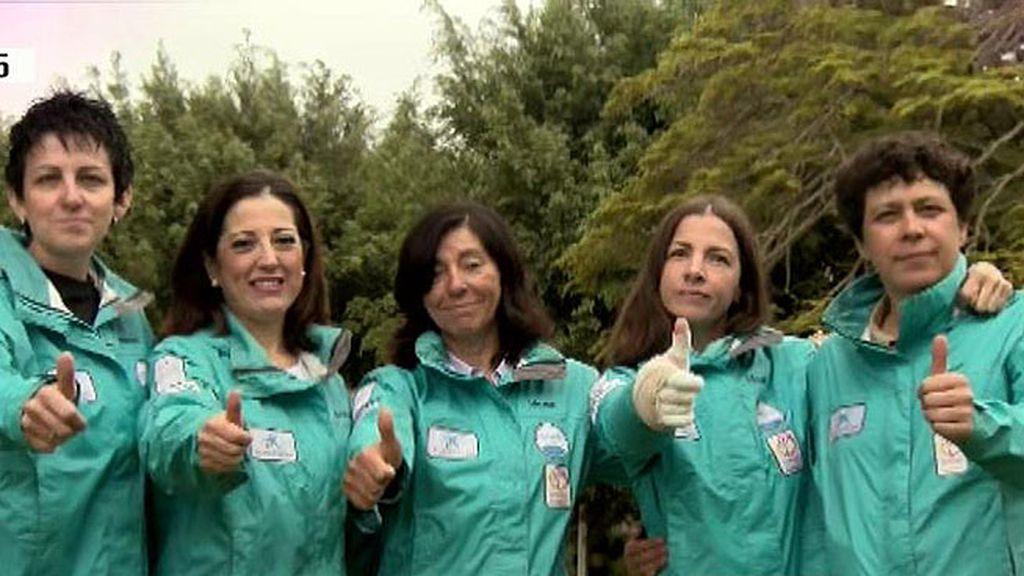 Cinco mujeres que han superado un cáncer de mama, suben al Kilimanjaro