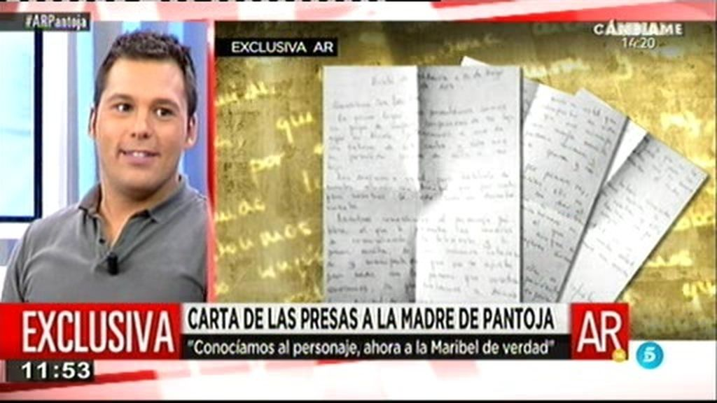Las presas sí quieren a Pantoja: su carta, llena de elogios a 'Maribel', en exclusiva
