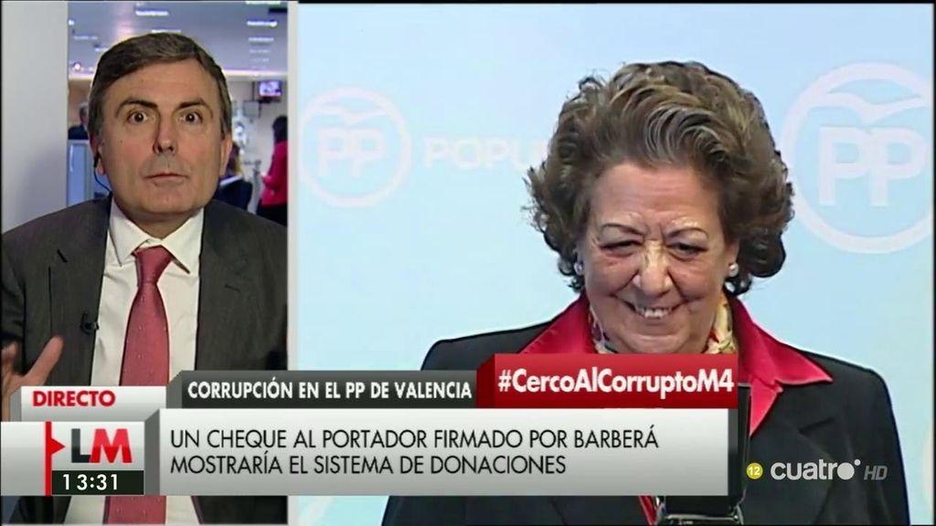 """Saura califica como """"vergonzosas"""" las declaraciones de Barberá y añade: """"Todavía es más bochornosa la actitud de Rajoy"""""""