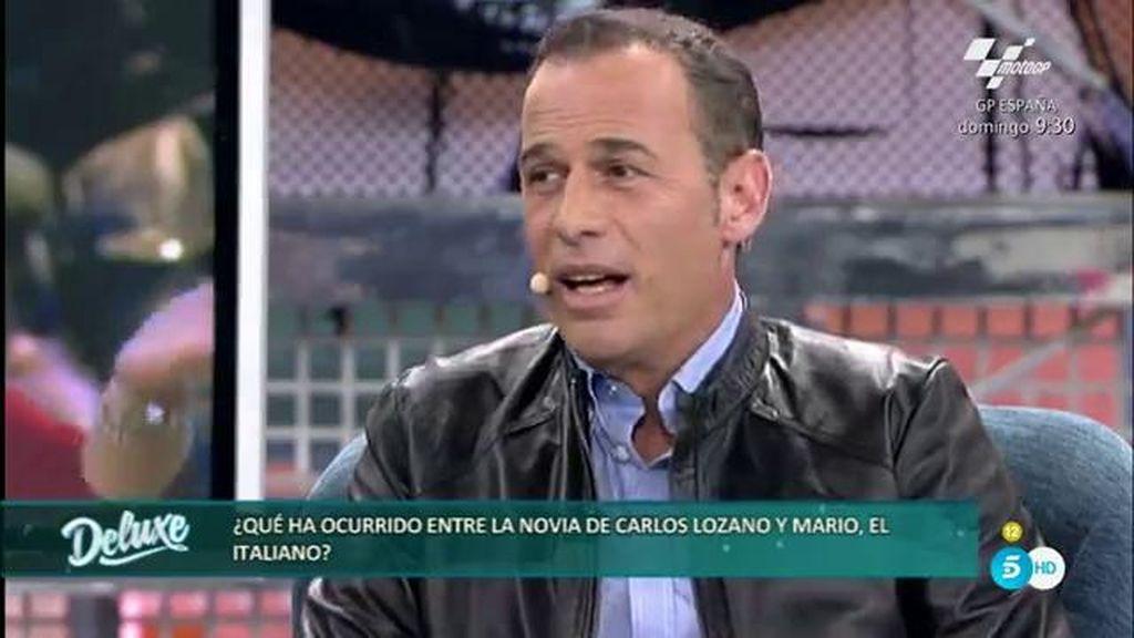 Carlos Lozano asiste al coqueteo entre su novia Miriam y Mario en 'Supervivientes'