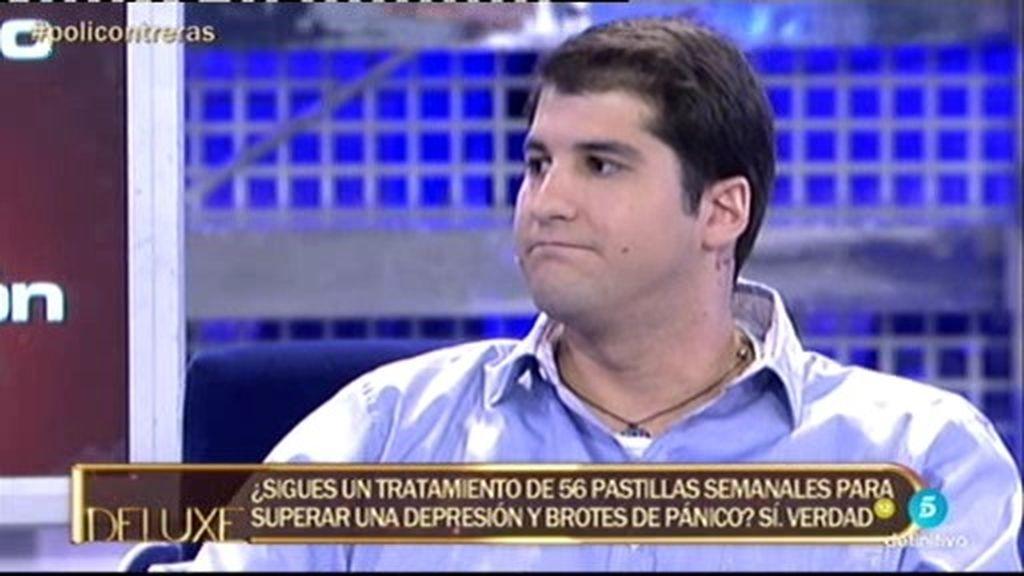 """Julián Contreras Jr.: """"Tomo 56 pastillas semanales para superar mi depresión"""""""