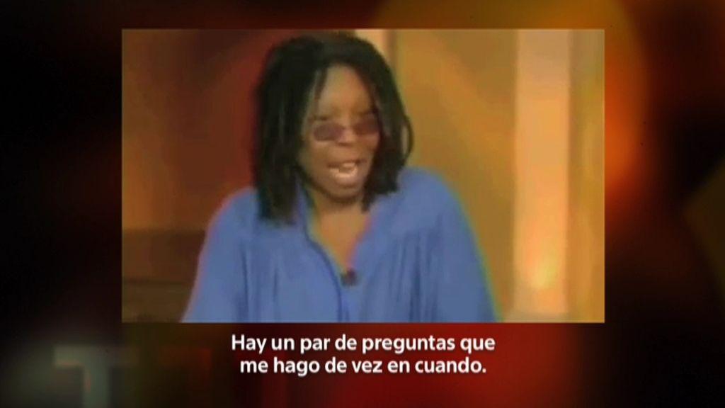 La actriz Whoopi Goldberg no cree en el alunizaje del apolo XI en 1969