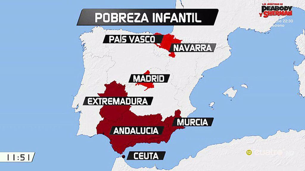 España es el segundo país europeo con más niños pobres