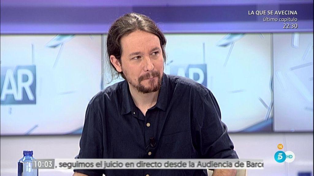 """Iglesias: """"Quiero que Íñigo siga a mi lado"""""""