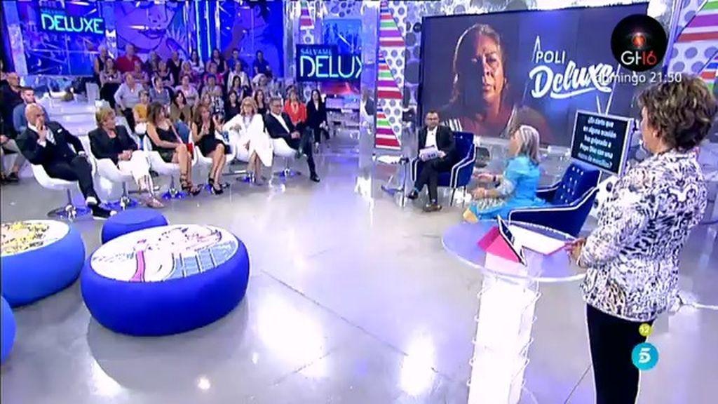 ¿Es cierto que Carmen Gahona ha golpeado a Pepe Díaz con una ristra de morcillas?