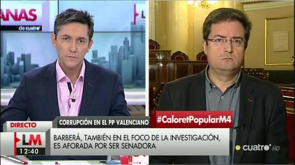"""Óscar López, sobre la operación en Valencia: """"Es un episodio más de un partido que está podrido por la corrupción"""""""