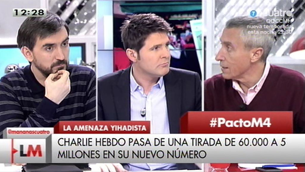 """Melchor Miralles: """"La libertad de expresión tiene límites"""""""