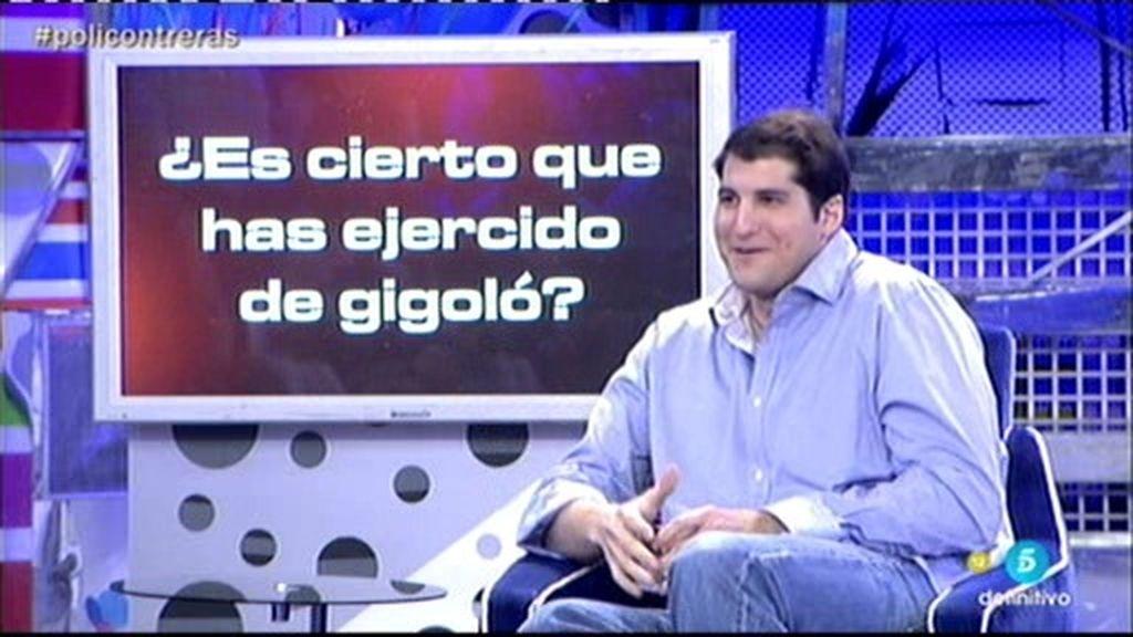 ¿Ha ejercido Julián Contreras Jr. de gigoló?