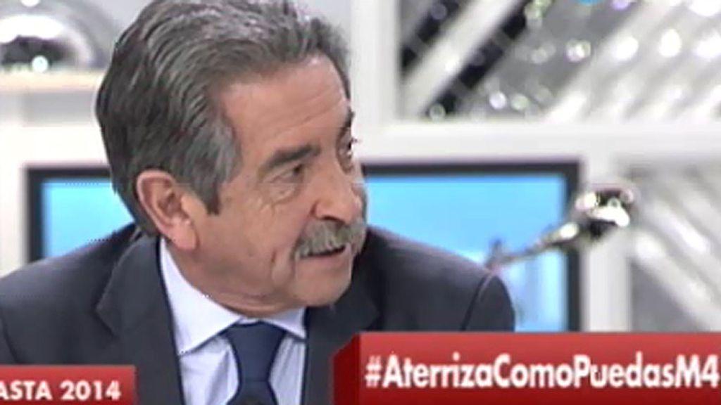 """M.A. Revilla: """"El termómetro de Mariano, Cospedal o Floriano es simulado y diferido"""""""