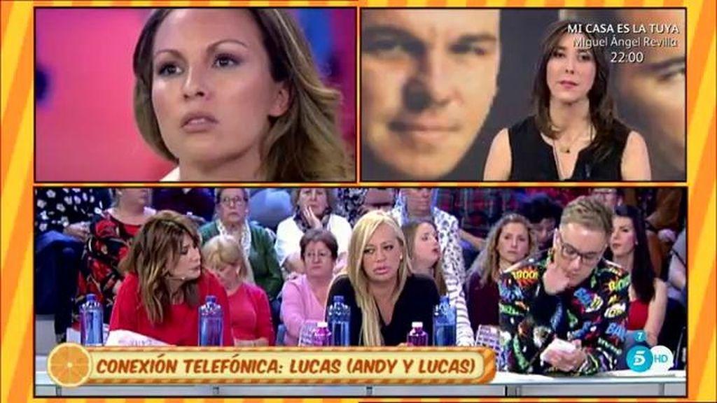 """Lucas González, de 'Andy y Lucas', a Tamara: """"No me he llevado un duro"""""""