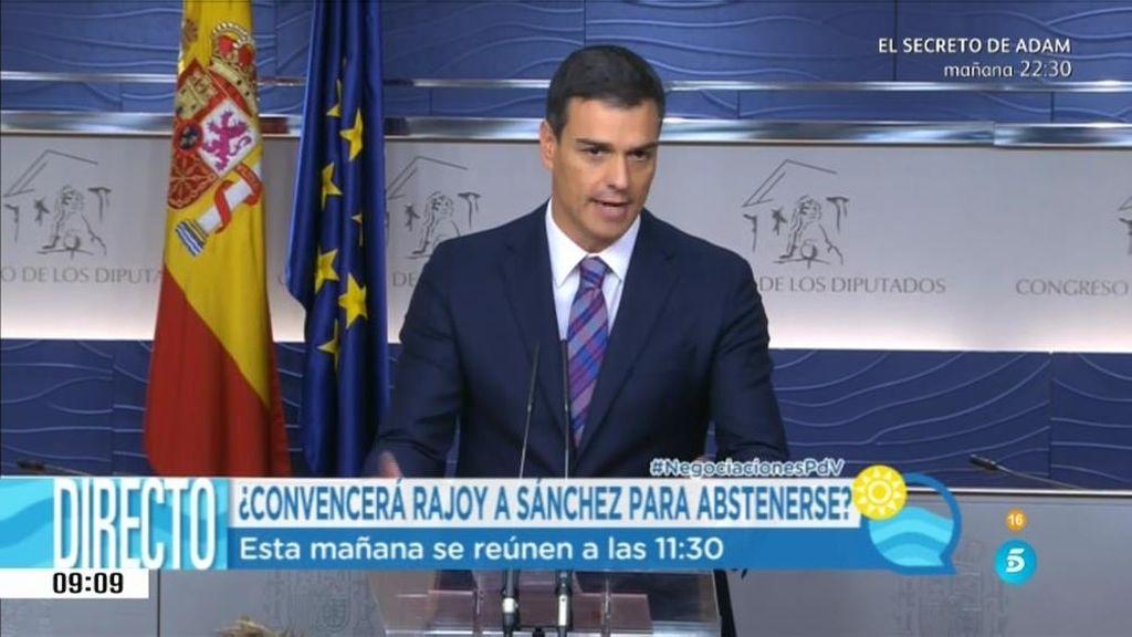 """Antonio Hernando: """"Sánchez planterá a Rajoy varias dudas sobre su investidura"""""""