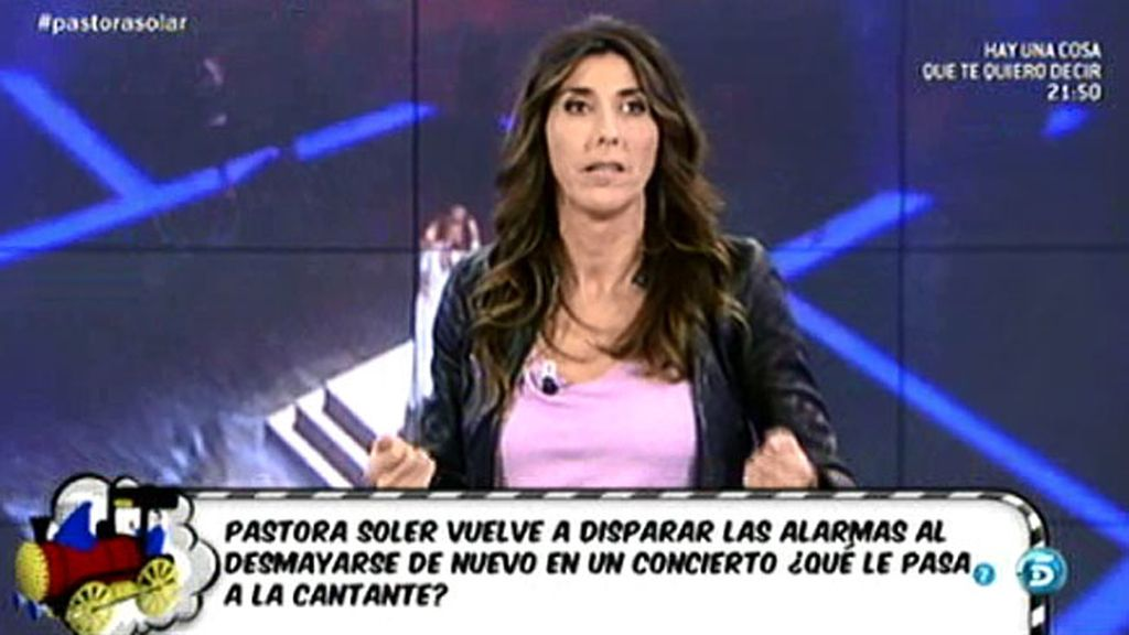 """Paz Padilla, a Pastora Soler: """"Tienes que luchar y volverte a subir a un escenario"""""""