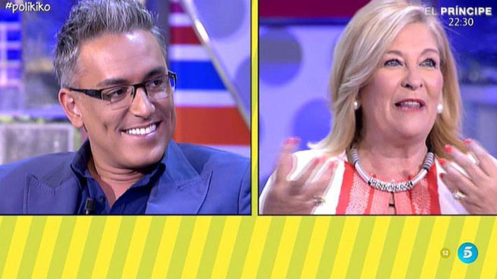 "Angy, a Kiko Hernández: ""Eres muy guapo, te volvería a besar"""