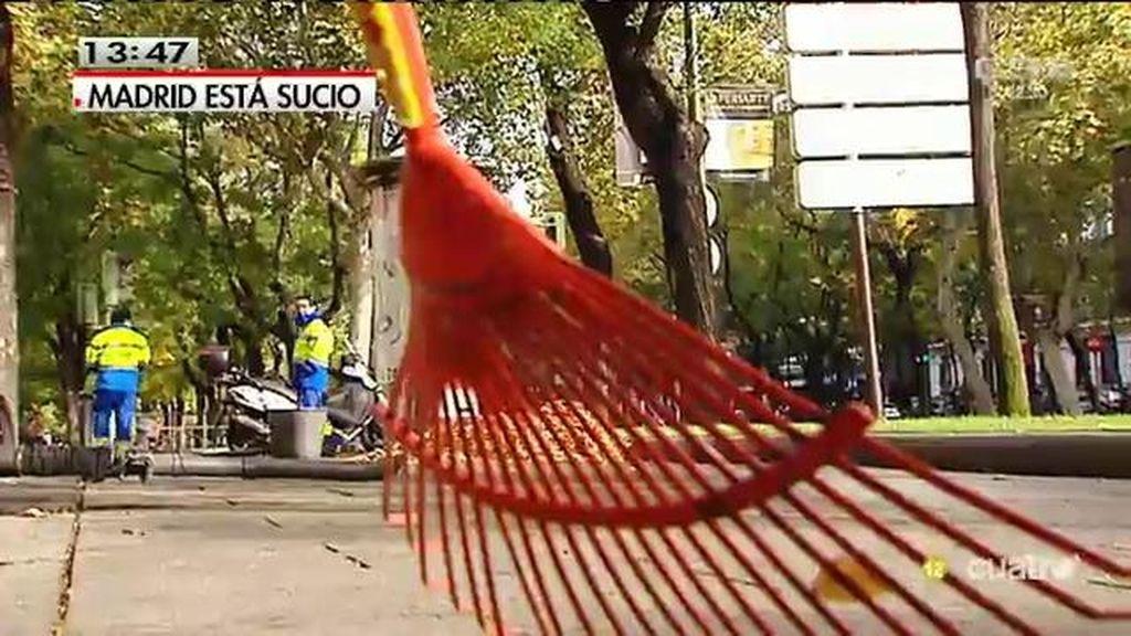 Madrid está sucio: Así lucen las calles debido al escaso personal de limpieza