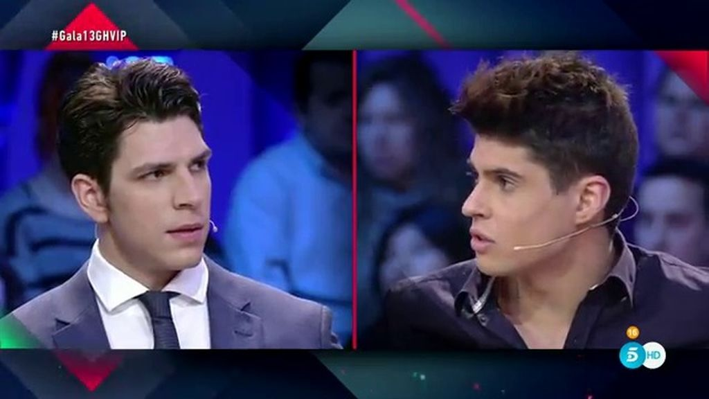 """Diego Matamoros, tensión en el plató con Javier Tudela: """"Os van a coger a todos"""""""
