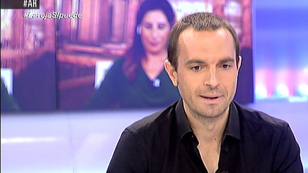 """Luis Alegre, Podemos: """"Nuestra opción es impulsar un movimiento de empoderamiento ciudadano"""""""