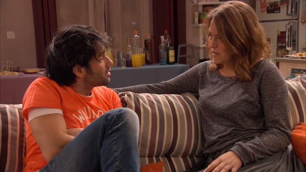 David se va a vivir a Estados Unidos y Lucía se queda destrozada