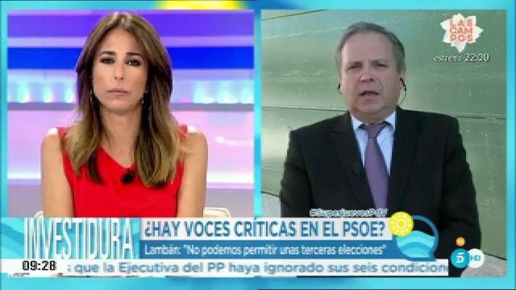 """Carmona: """"Sería un ridículo ir a elecciones pero no tenemos la llave de esa puerta"""""""