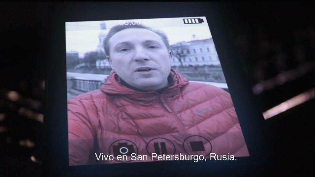 """El mensaje de Alek: """"Aquí matan a los gays"""""""