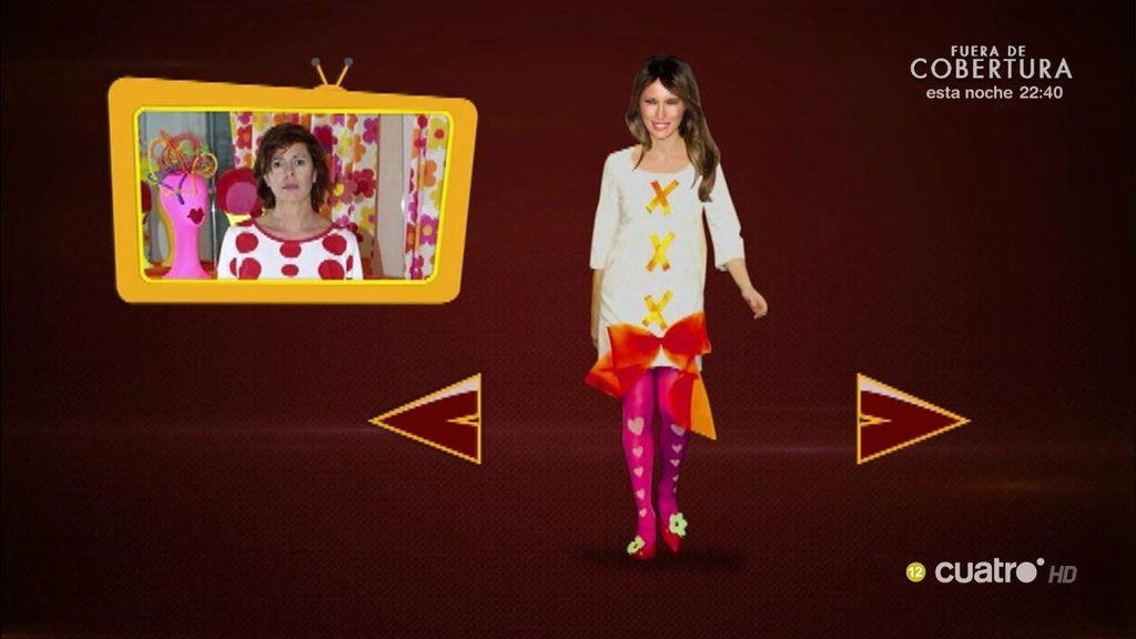 Melania Trump se queda sin estilista y 'Hazte un selfi' le aconseja la moda 'Made in Spain'