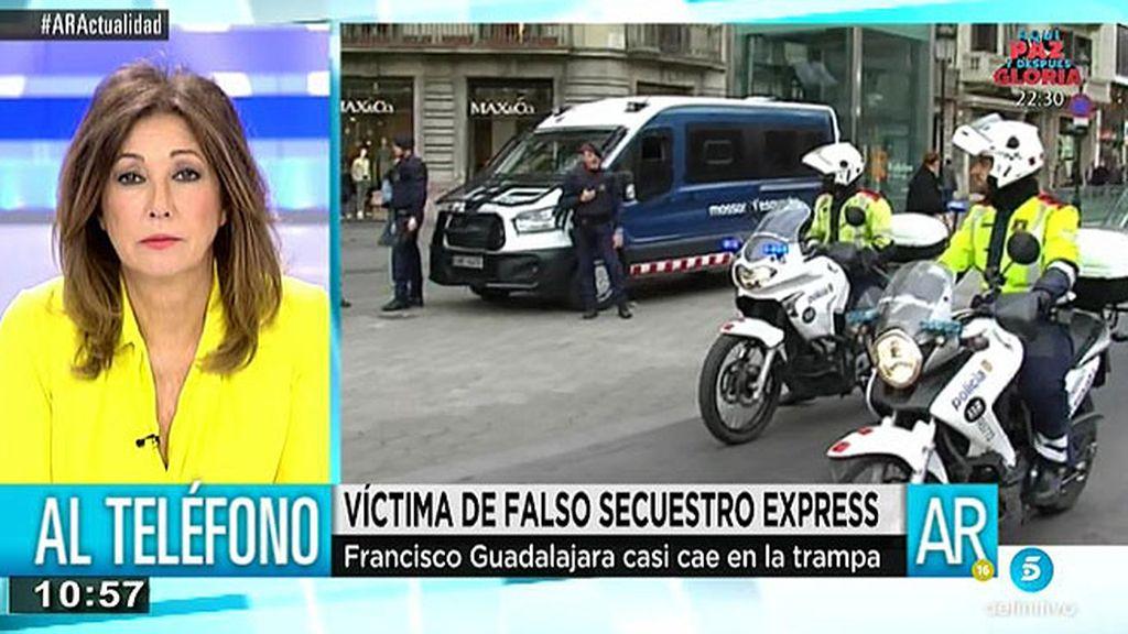 'AR' habla con Francisco, víctima de un falso secuestro