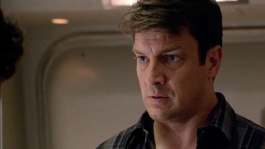Castle busca a un vigilante aéreo desparecido dentro de un avión