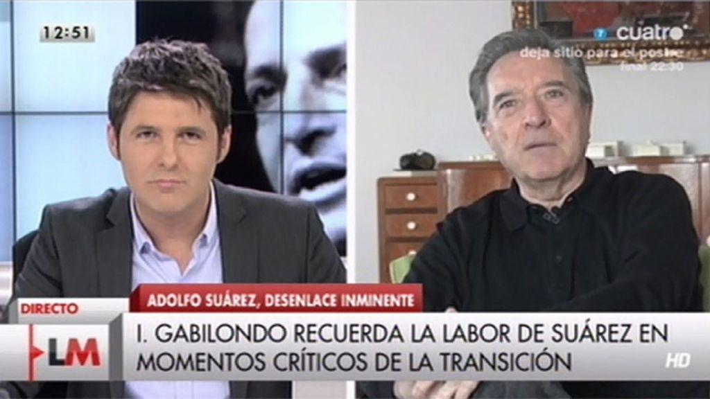 La entrevista a Gabilondo, online