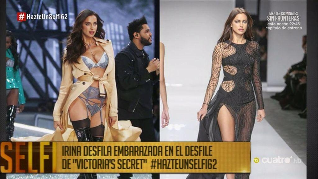 El gran secreto de Irina Shayk: así desfiló embarazada para Victoria's secret