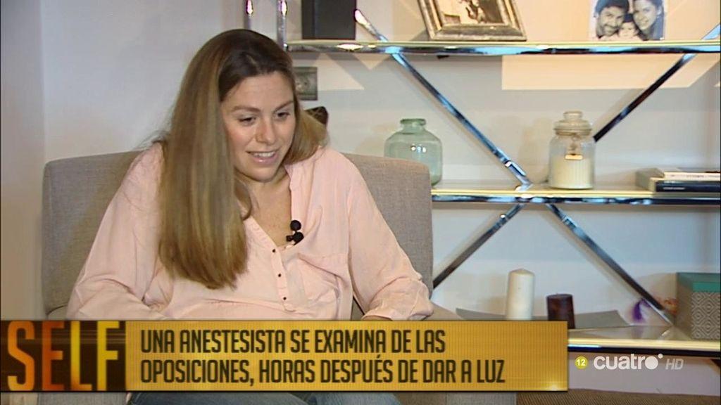 """Se examina de oposiciones horas después de dar a luz: """"La gente se lo tomaba a risa"""""""