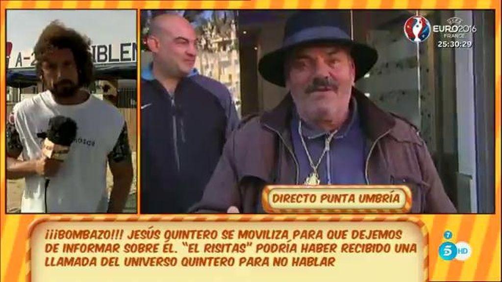 """J.A. León: """"Supuestamente, personal de Quintero ha llamado a 'Risitas' para que ni se le ocurra hablar bien o mal de Jesús"""""""