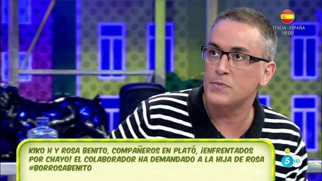 """Kiko Hernández, de Chayo Mohedano: """"Lo único que sabe es dar el cante"""""""