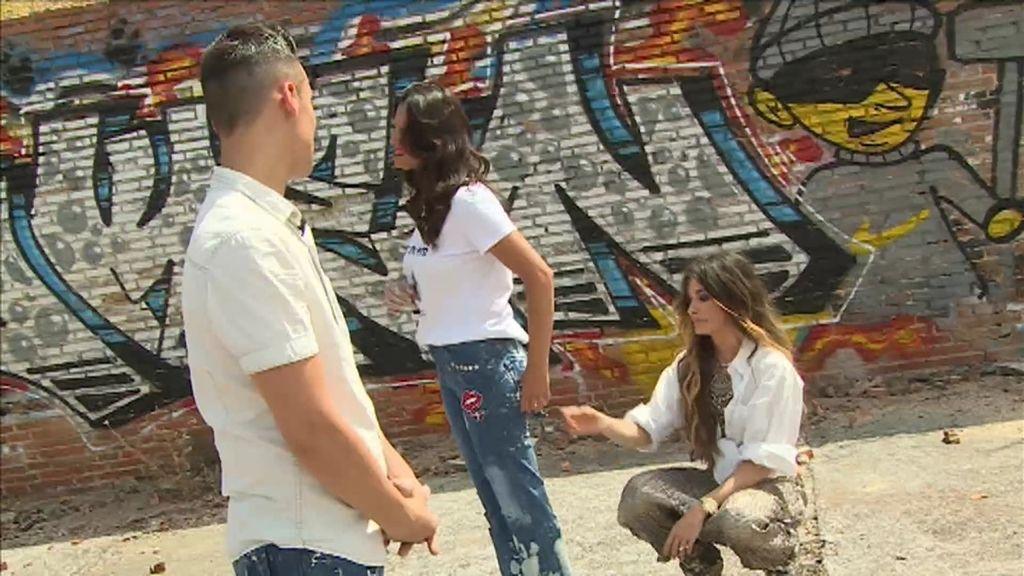 """Christian se copia del estilo """"DIY(E)"""" de Cristina, pero no gana el reto"""