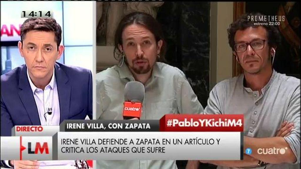 """Pablo Iglesias: """"Hemos aprendido que hay que sonreir y que sonriendo vamos a ganar las elecciones al PP"""""""