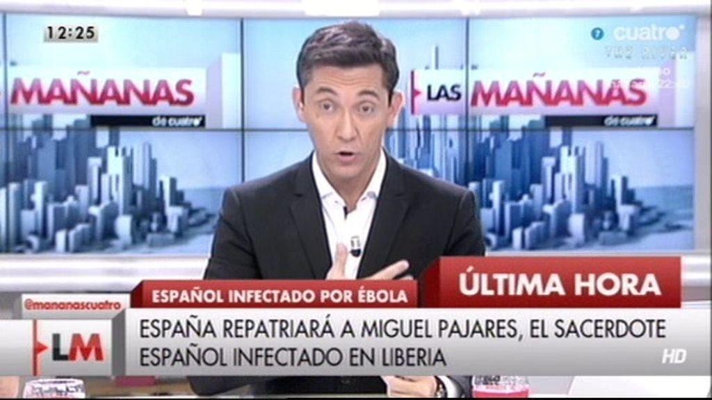 """P. González, coordinadora 'proyecto ébola': El riesgo es prácticamente inexistente"""""""