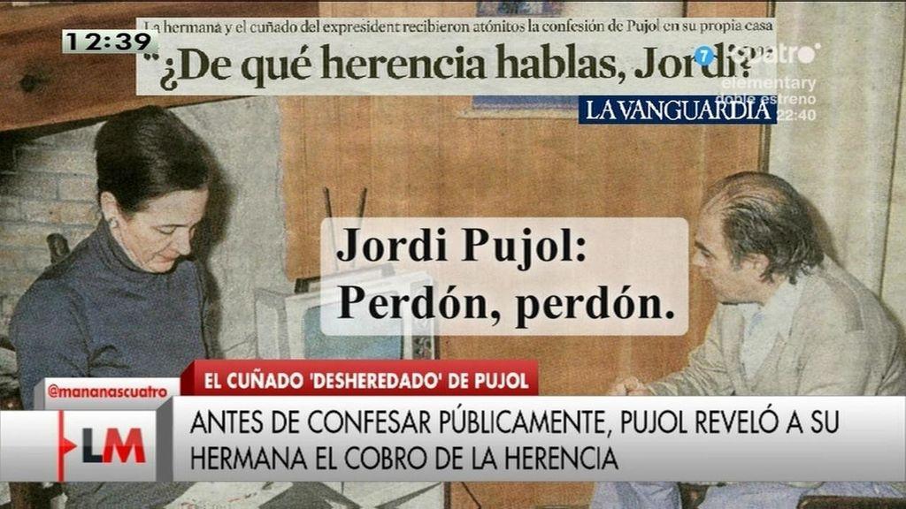"""La hermana de Pujol: """"¿De qué herencia hablas, Jordi?"""""""